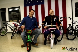SunFrog Shirts Partners with Toys For Tots to Support Otsego County