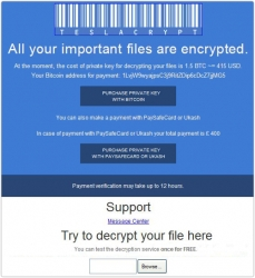 Nabz Software Suite Integrates Removal of the New TeslaCrypt Ransomware Virus