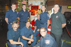 Chin Chin, Las Vegas Fire and Rescue, Clark County Fire Department, and Santa to Once Again Raise Spirits and Funds for The Shade Tree Shelter