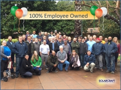 SolarCraft Becomes 100% Employee-Owned - North Bay Solar Energy Leader Sells to Employees Through ESOP