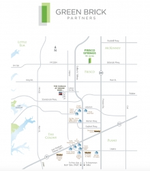 Green Brick Partners Announces $170 Million Dollar Development in Frisco, Texas and December Progress
