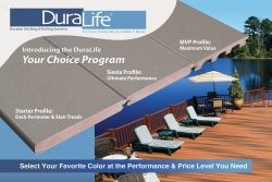 Your Choice Program™ from DuraLife™ Blends Finish, Performance & Value to Create Beautiful, Custom Decks