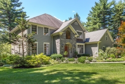 New to the Market in Princeton, MA: a Waterfront Colonial on Snow Pond