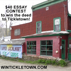 Wintickletown.com Gives You the Chance to Win Your Sustainability Dream