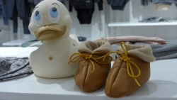 Prominent Art History Professor Launches Upscale Baby Shoe Brand: MooseBooties