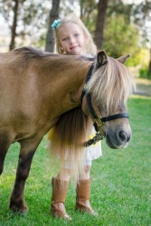 Envision Brings Horses to Help Kids at Camp Kangaroo