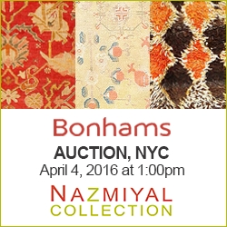 Exciting Antique Rug Auction Creates Buzz in NYC and You Are Invited