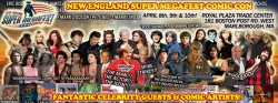 Burt Reynolds, Chewbacca and Catwoman Come to New England Super Megafest