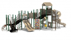 Noah's Park & Playgrounds Works with 4Corners Homes to Bring a New Playground to the Asheville Housing Development in Choctaw, OK