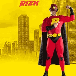 Rizk Goes Live: The New Online Casino with a Superhero
