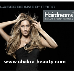 Hairdreams Luxury Hair Extensions Partner Salon, Chakra Beauty, First to Offer Certified Laserbeamer Nano Hair Extension System in North County San Marcos, CA
