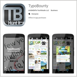Observers of National Grammar Day Can Apply Their Knowledge Cleaning-Up the Web Using the TypoBounty App