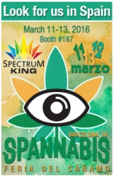 Meet Spectrum King LED at Spannabis 2016 at Booth 187