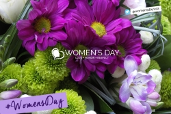 Giving a Gift of Flowers is a Thoughtful and Honorable Way to Celebrate Women's Day, March 8