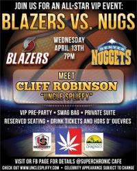 Blazers VS Nugs Portland Trailblazers Take on the Denver Nuggets for the Blazers Last Home Game of the Season
