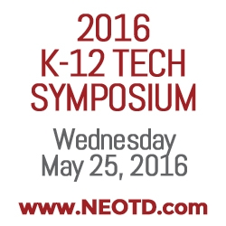 NEOTD's K-12 Tech Symposium at Lorain County Community College – May 25th, 2016