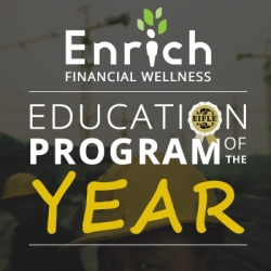 Employee Financial Wellness Program Enrich Wins Education Program of the Year Award