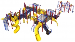Sand Springs Public Schools Choose Noah's Park & Playgrounds' Custom Design for Pratt Elementary School