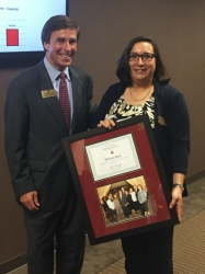 Private Bank of Buckhead: Welma Baer Receives Chairman's Award