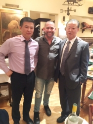 North Korea Ambassador Invited David Sugarman to the DPRK