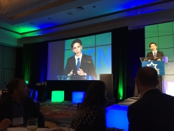 Nate Goodman, San Diego Teen, Speaks at Jewish Philanthropy Conference and Shares the Stage with Randi Zuckerberg, the Mayor of Jerusalem, and Other Notables