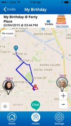 Adris Infotech announced that their mobile app, Map My Meet, now Allows Users to Share Driving Directions in Real Time via a Private Code.
