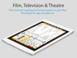 New iPad App for Film and TV Production