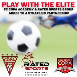 FC Copa Academy & Rated Sports Group Agree to a Strategic Partnership