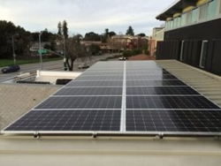 SolarCraft Completes Solar Power Installation at Menlo Park Fire Station - Silicon Valley Fire Station Goes Green and Saves Money