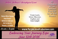 The Embracing Your Journey Expo Holistic Wellness Event Returns to Phoenix