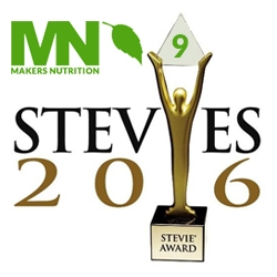 Makers Nutrition Receives Nine Stevie® Awards in 2016 American Business Awards