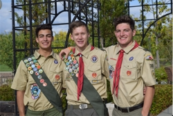 Temecula California Troop 301: Three Achieve Scouting's Highest Honor