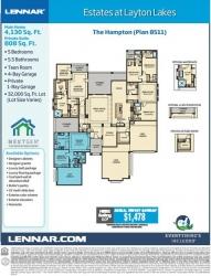 Lennar Unveils Big Homes on Big Homesites in Chandler, Arizona