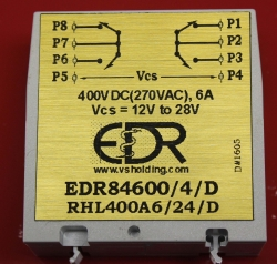 EDR Extends Line of Solid-State Devices by Introducing 280 VAC (400 VDC) DPDT (2C Form 2B) Family of SSR's Mimicking 100% Electromechanical Relays