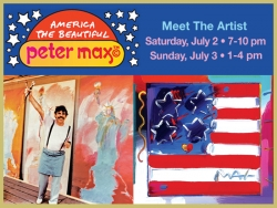 Peter Max Returns to Jersey Shore for Independence Day Weekend Celebration