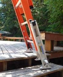 Menards Home Stores Begin Stocking Levelok Ladder Safety Equipment