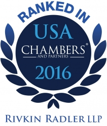 Rivkin Radler's Insurance and Health Services Practices Recognized in Chambers USA