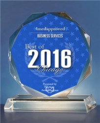 4Medapproved Receives 2016 Chicago Business Service Award