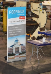 Roofinox Displays Full-Line of Stainless Steel Roofing Products at Moon in June Machinery Show