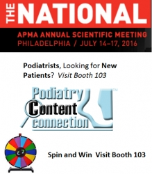 Podiatry Content Connection to Release the First Intelligent Automated Online Marketing Product for Podiatrists at APMA National Conference