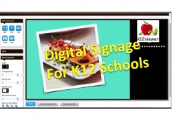 Green Edge System Presents K12Viewer School Digital Signage, School Digital Menu Boards and MyPlate Dry Erase Boards at ANC 2016 SNA Conference