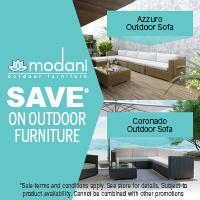 Modani Furniture Announces Outdoor Clearance Sale
