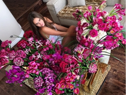 Larger Than Life Bouquet for Model Xenia Deli