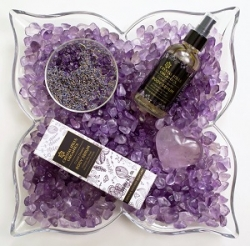 Body Care Infused with Organic Botanicals and Healing Crystals