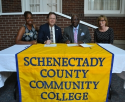 SUNY Schenectady County Community College Establishes a New Agreement with Bellevue University