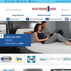 Accorin Announces Deployment of New E-commerce Website for Mattress 1, America's Largest Independent Mattress Retail Chain