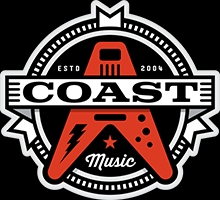 Coast Music Debuts New Logo, Website and Focus on Rock and Popular Music Styles