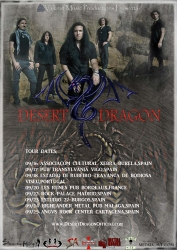 Progressive Rock Band Desert Dragon Announces European Tour