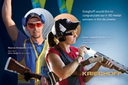 Krieghoff Shooters Bring Home Silver and Bronze Medals from Olympics in Rio