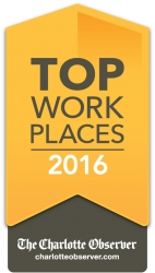 Insight Global Named a 2016 Top Workplace by the Charlotte Observer